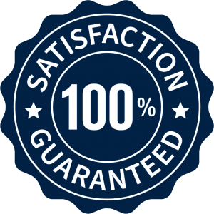 100% Satisfaction Guaranteed badge